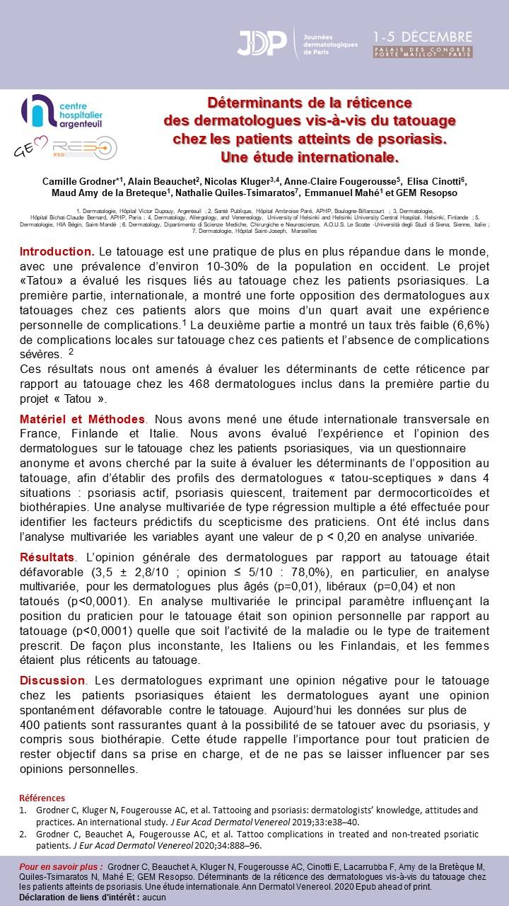 E-poster Tatou III